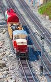 миниатюрный модельный поезд Стоковое Изображение RF