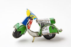 миниатюрный самокат Стоковое Изображение RF