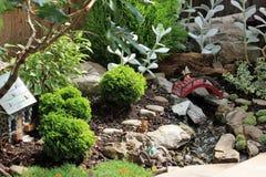 Миниатюрный сад Стоковое Изображение RF