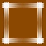 Минимальная геометрическая рамка с пересекать выравнивается над деревянным иллюстрация штока