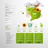 Минимальный дизайн Eco Стоковое Изображение RF