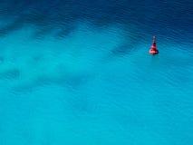 Минимальный томбуй океана Стоковая Фотография RF