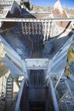 Минирование и завод по обработке открытого карьера Стоковое фото RF