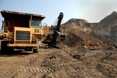 минирование оборудования угля Стоковая Фотография