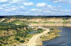 Минирование руды Стоковое Фото