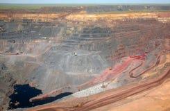Минирование руды Стоковое фото RF