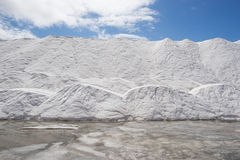 Минирование соли Стоковые Изображения RF