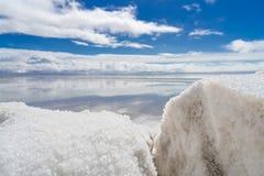 Минирование соли Стоковые Фото