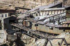 Минирование Cerro Rico, Potosi, Боливия стоковая фотография rf