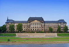 Министерство финансов положения Saxon, Дрезден Стоковые Фото