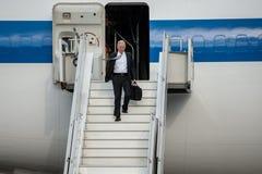 Министр Обороны Джеймс Mattis США приехал в Kyiv Стоковое Изображение RF