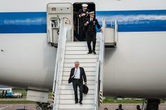 Министр Обороны Джеймс Mattis США приехал в Kyiv Стоковая Фотография