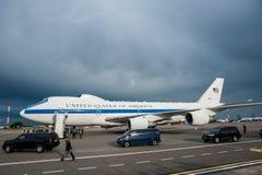 Министр Обороны Джеймс Mattis США приехал в Kyiv Стоковое фото RF