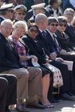 Министр Обороны Mapisa-Nqakula на мемориале Стоковая Фотография RF