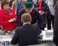 Министр финансов чехии Andrej Babis стоковое изображение