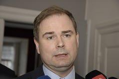 Министр Nicolai Wammen для обороны Стоковые Фотографии RF