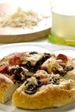 миниые ломтики пиццы стоковые изображения rf