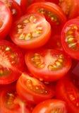 миниые отрезанные томаты Стоковая Фотография RF