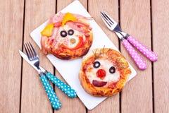 Миниые пиццы Стоковые Фотографии RF