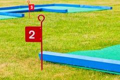 Миниый гольф стоковые изображения rf