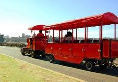 миниый поезд езды Стоковая Фотография RF