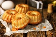 Мини булочки с сыром Стоковые Фото