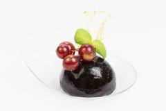 Мини закуски овоща десертов и канапе мяса Стоковые Изображения RF