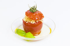 Мини закуски овоща десертов и канапе мяса Стоковое Фото