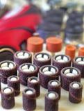 Мини машина сверла с комплектом различных аксессуаров Стоковое Фото