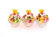 Мини модель мороженого Стоковые Фото