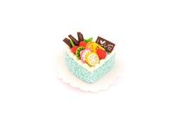 Мини модель торта Стоковая Фотография
