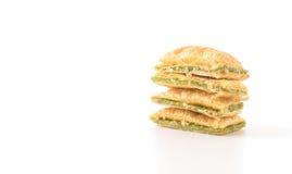 мини печенье пирога с вареньем кивиа Стоковое Фото