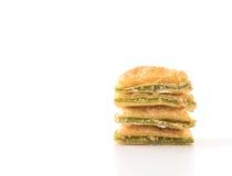 мини печенье пирога с вареньем кивиа Стоковое Изображение