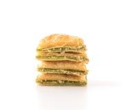 мини печенье пирога с вареньем кивиа Стоковые Фото