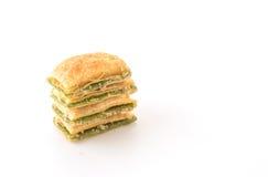 мини печенье пирога с вареньем кивиа Стоковая Фотография RF
