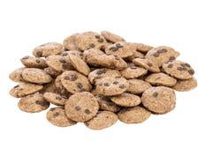 Мини печенья обломоков шоколада Стоковое фото RF