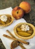 Мини пироги персика Стоковое фото RF