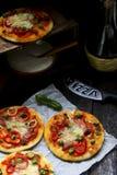 Мини пицца Стоковая Фотография
