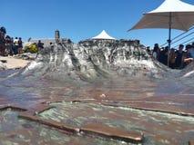 Мини скульптура горы tabel Стоковое Фото