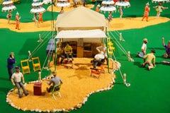 Мини статуя цирка: зона отдыха Стоковые Фото