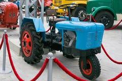 Мини трактор TMZ MT4 5 в музее автомобильной технологии стоковая фотография