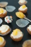 Мини cupcackes Стоковые Изображения RF
