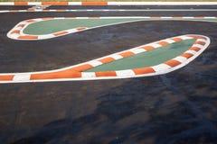 Мини racingway Стоковая Фотография RF