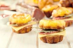 Мини sendwich Стоковое Изображение