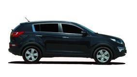 Мини SUV стоковое изображение
