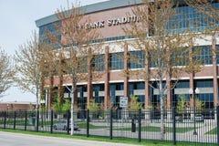 МИННЕАПОЛИС, MN, США, 2-ОЕ МАЯ 2017: Стадион банка TCF на кампусе университета миннесоты стоковые изображения