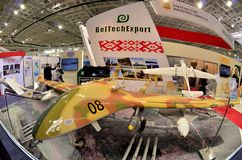 05 05 2017 Минск, Беларусь Международная выставка MILEX оружия и военного оборудования: стоковые изображения rf