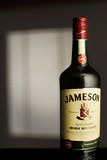 МИНСК, БЕЛАРУСЬ 25-ОЕ АВГУСТА 2016 Бутылка ирландского вискиа Стоковые Изображения RF
