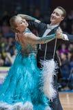 Минск, Беларусь 15-ое февраля 2015: Chernenko Timofiy и Chernenk Стоковые Фотографии RF