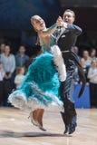 Минск, Беларусь 15-ое февраля 2015: Chernenko Timofiy и Chernenk Стоковые Фото